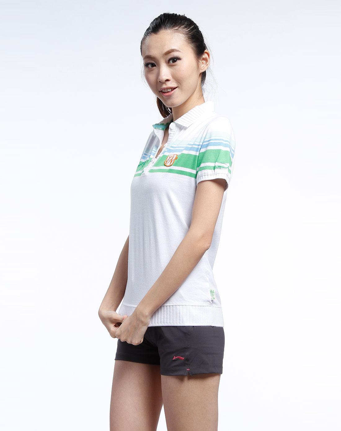 李宁女短袖