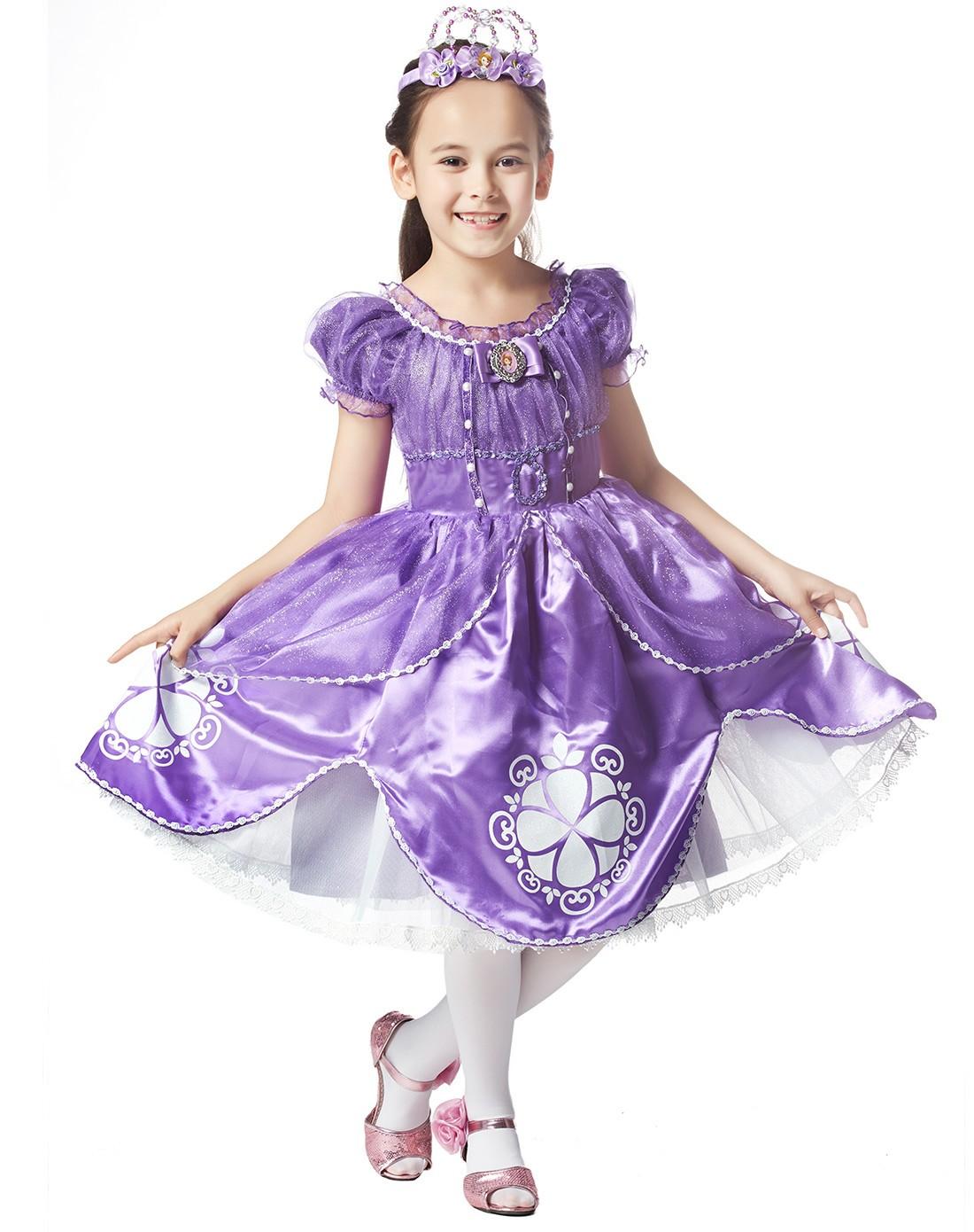 魔法世界苏菲亚小公主连衣裙图片