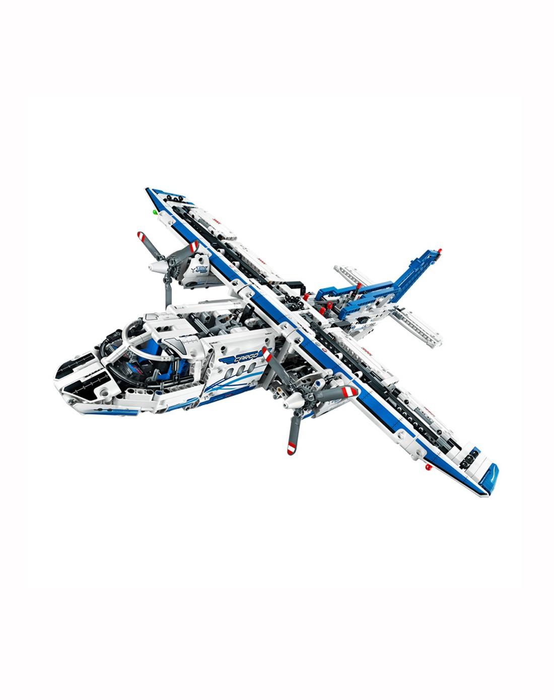 乐高lego国际顶级拼插益智玩具移动专场货运飞机_唯品