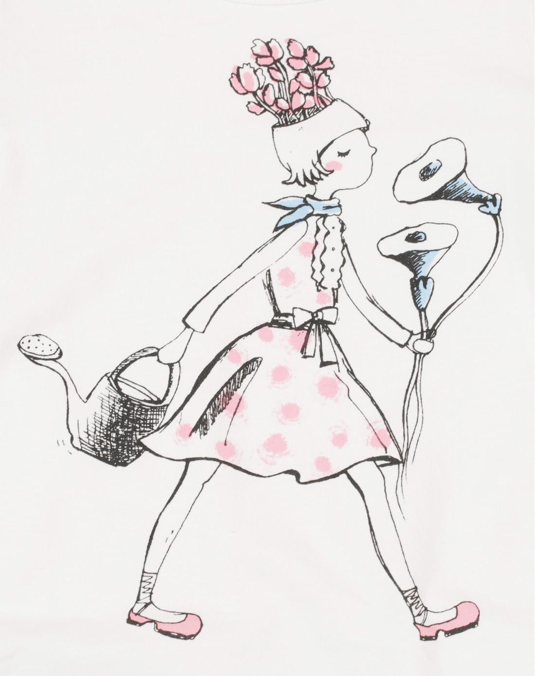 女童效果图手绘