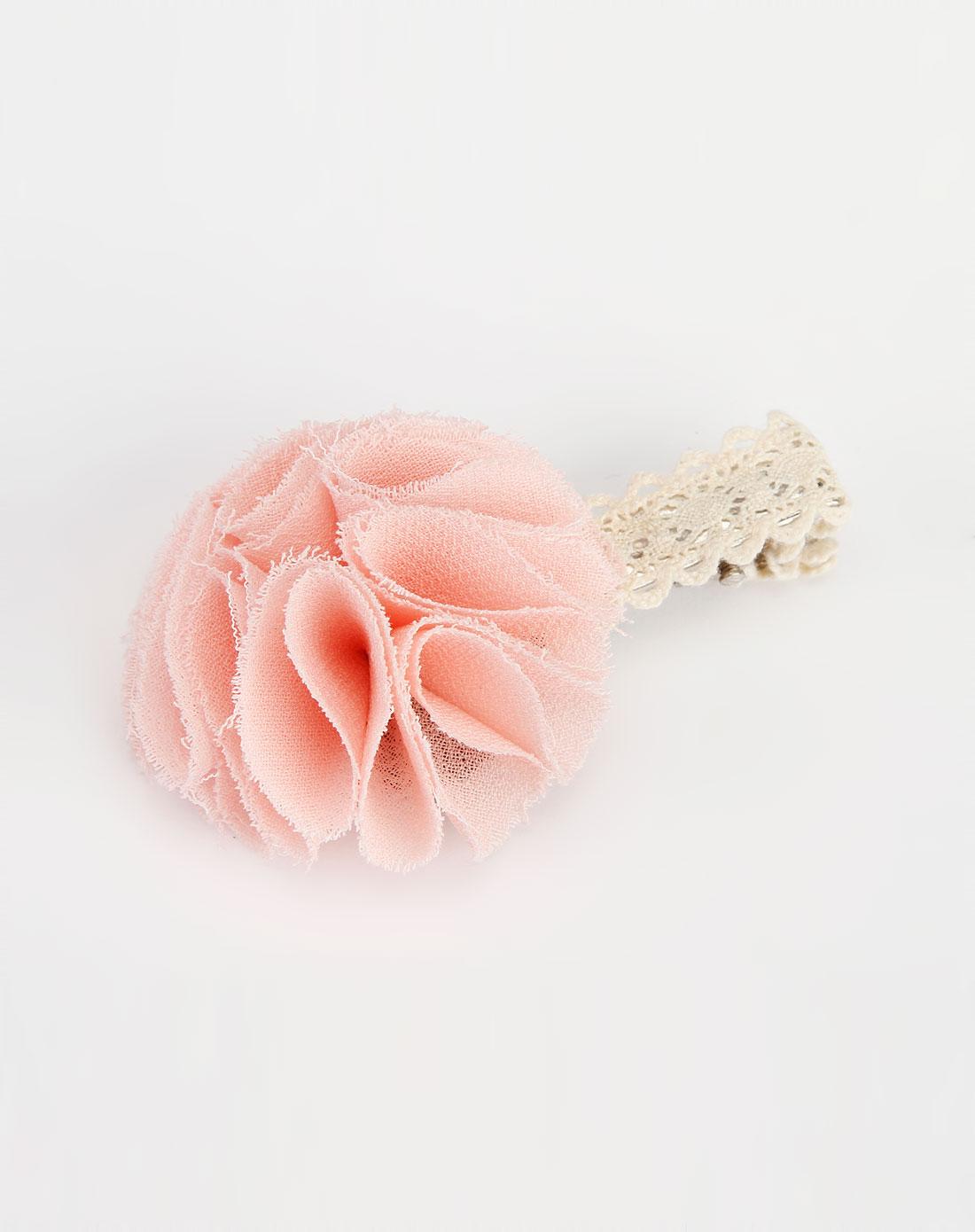粉色小花可爱发夹