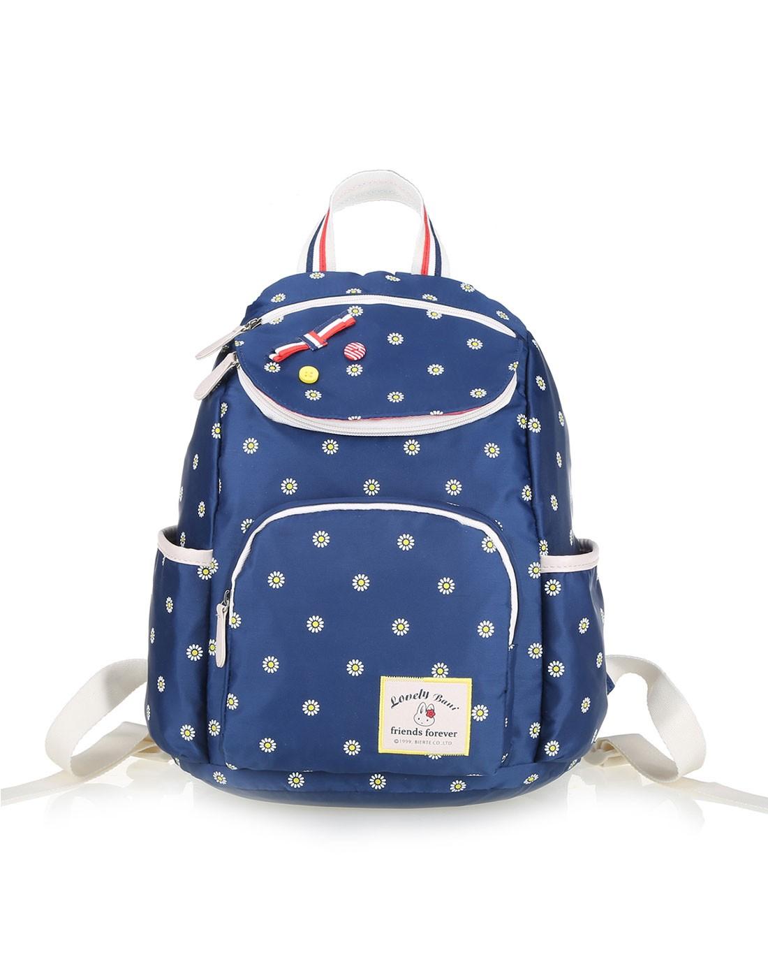 女蓝色太阳花纹系列-背包图片