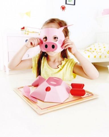 立体折纸画-小猪e5