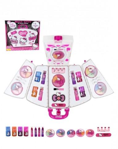梦幻公主玩具专场凯蒂猫 可爱手提化妆箱(灯光魔法镜)