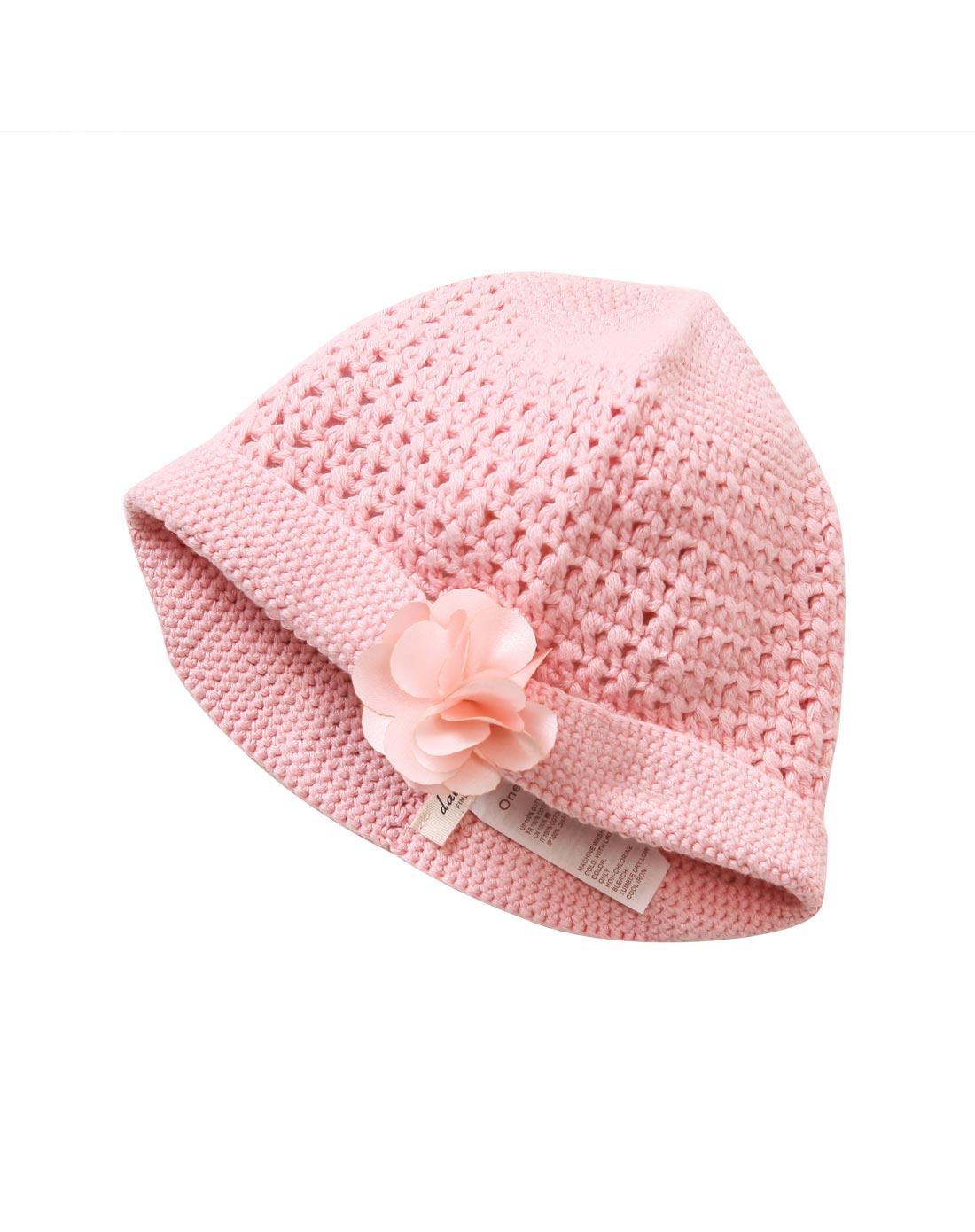 婴儿帽子编制图