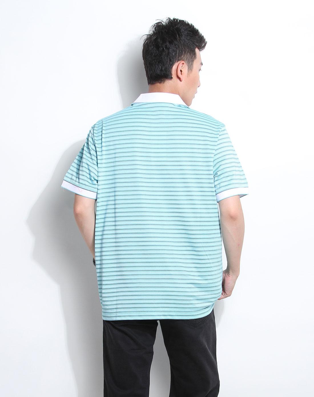新款短袖T恤柒牌男装