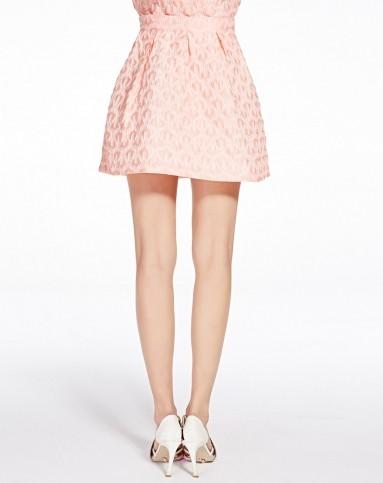 粉红花纹女裙