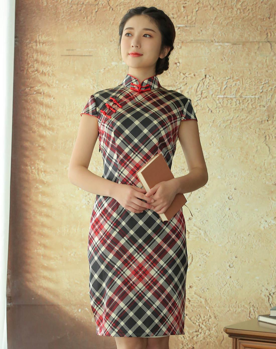 曼青 旗袍裙