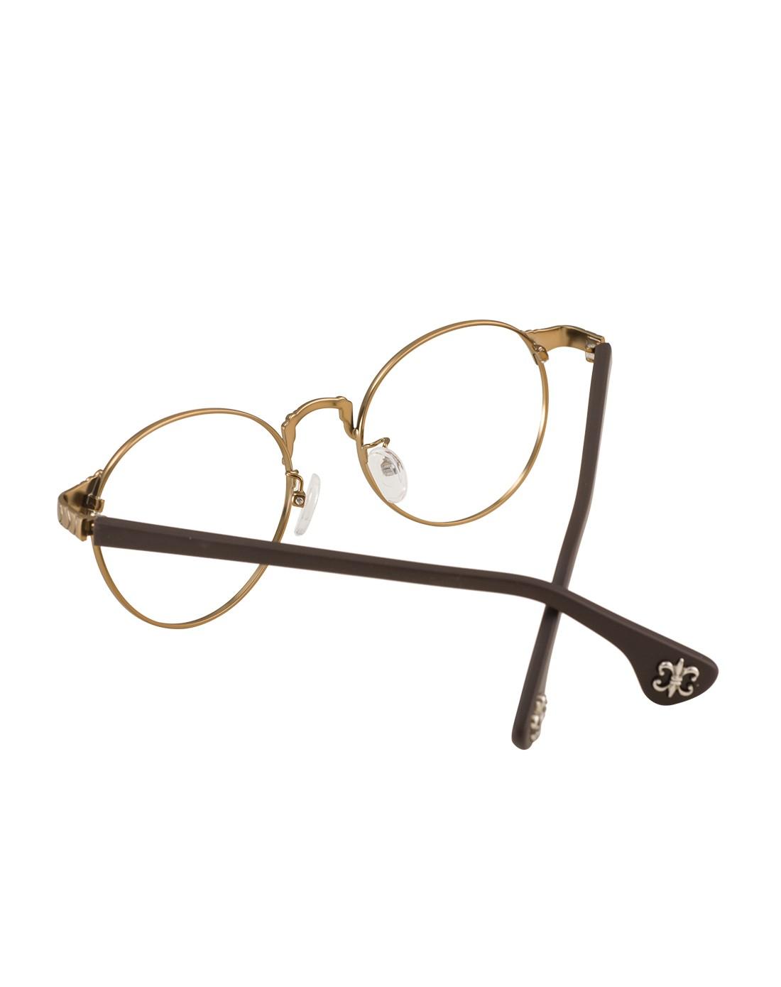 音米in mix时尚眼镜专场 > 金属大框复古圆形镜框