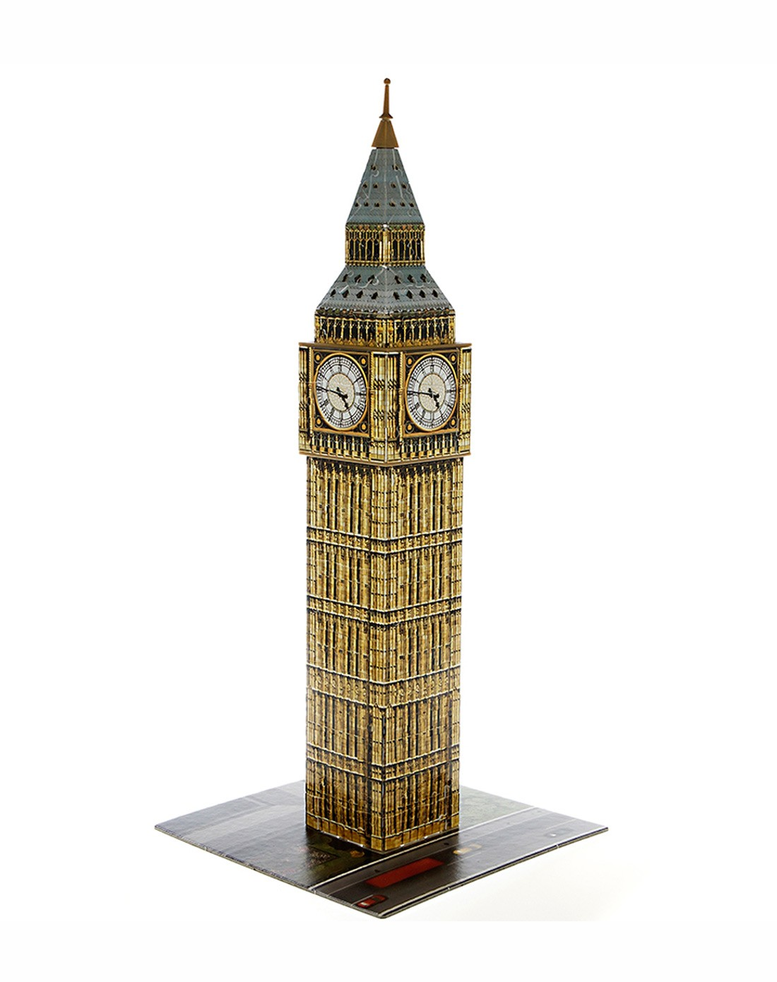 睿思3d建筑拼图英国伦敦大本钟
