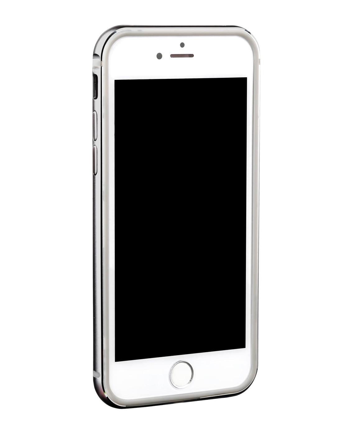 > iphone6灰色边框内套tpu边框