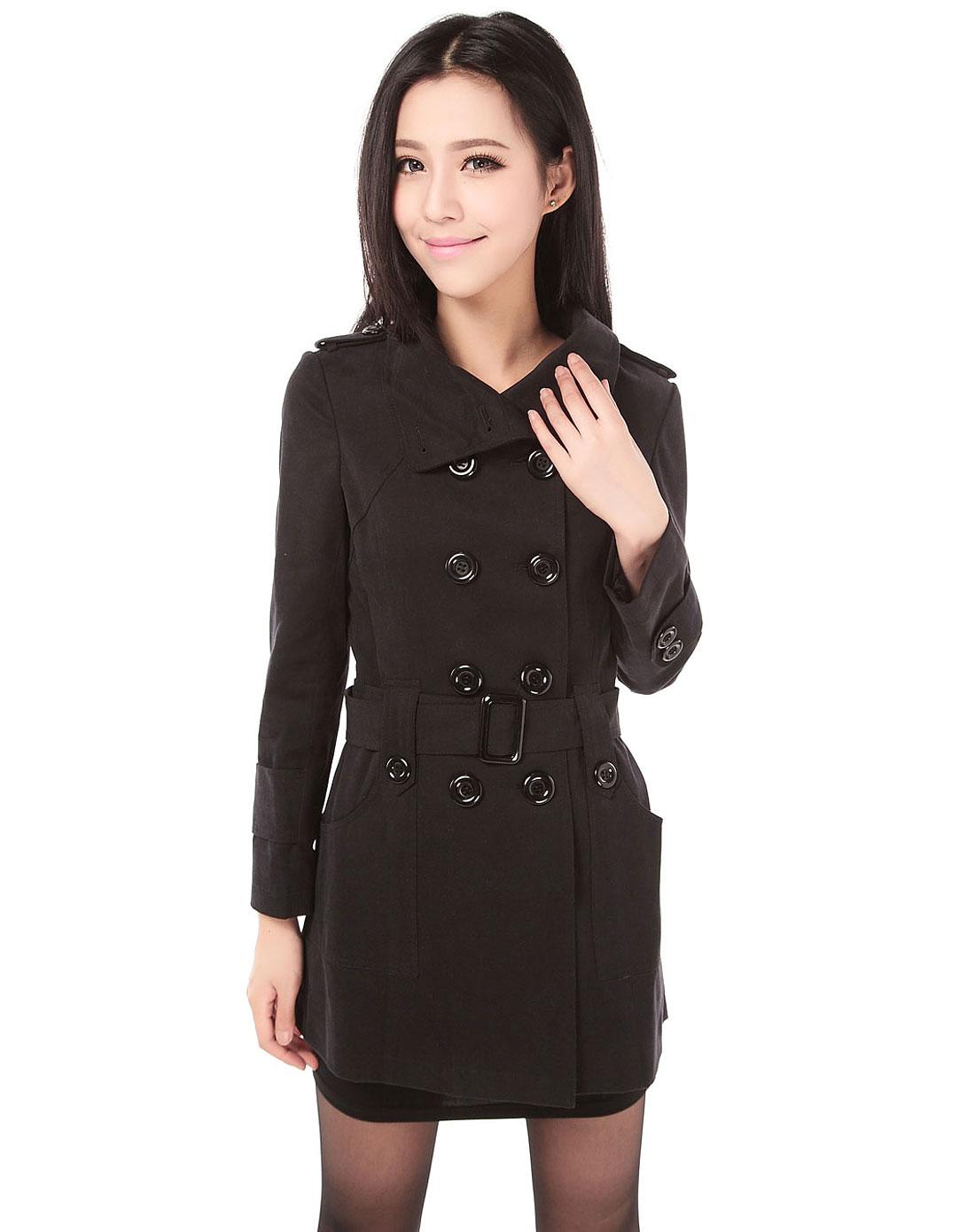 2014秋冬季女装新款 女 士毛衣韩版中长款针织衫长袖衣图片