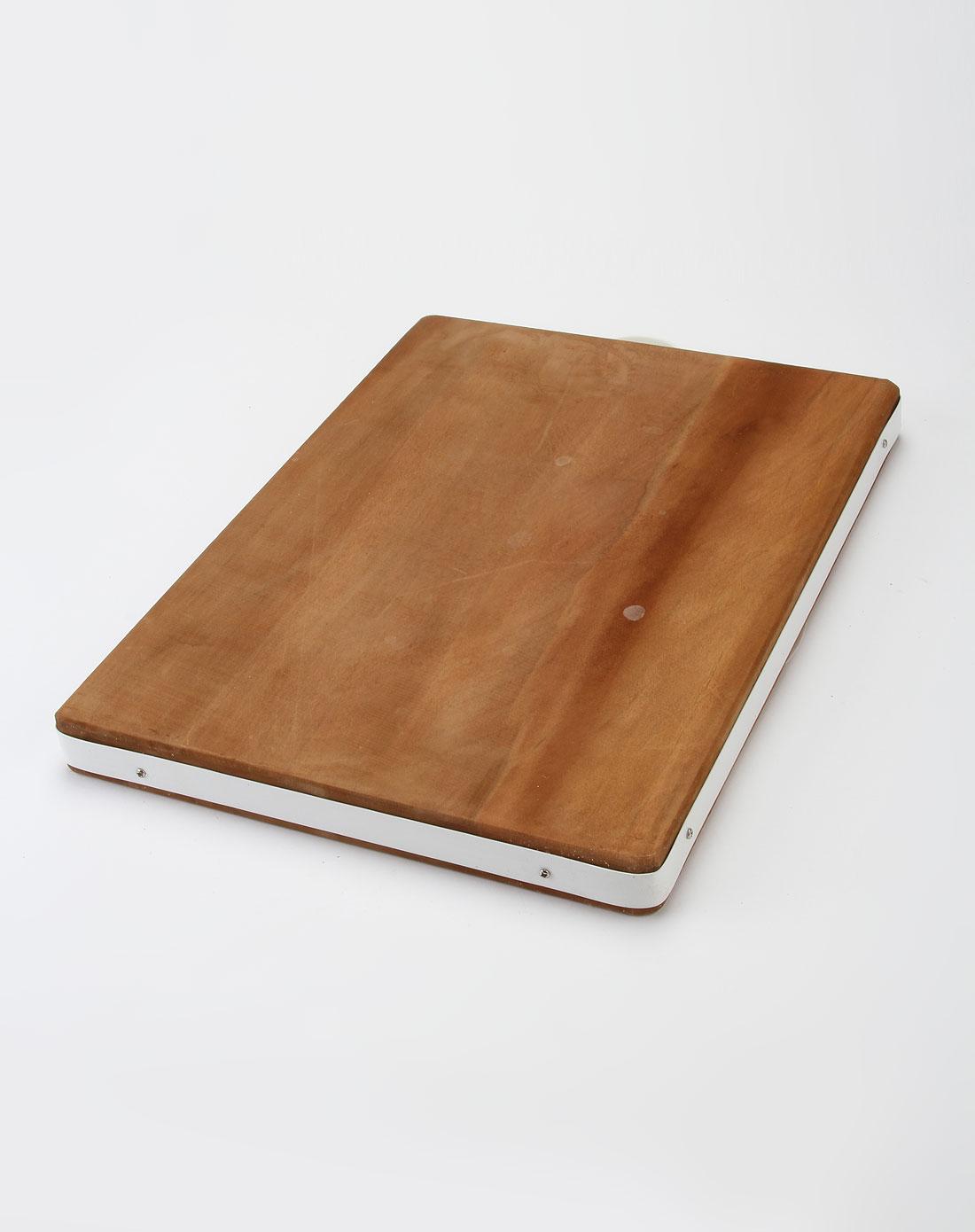 深木色进口金檀木原木砧板(长)