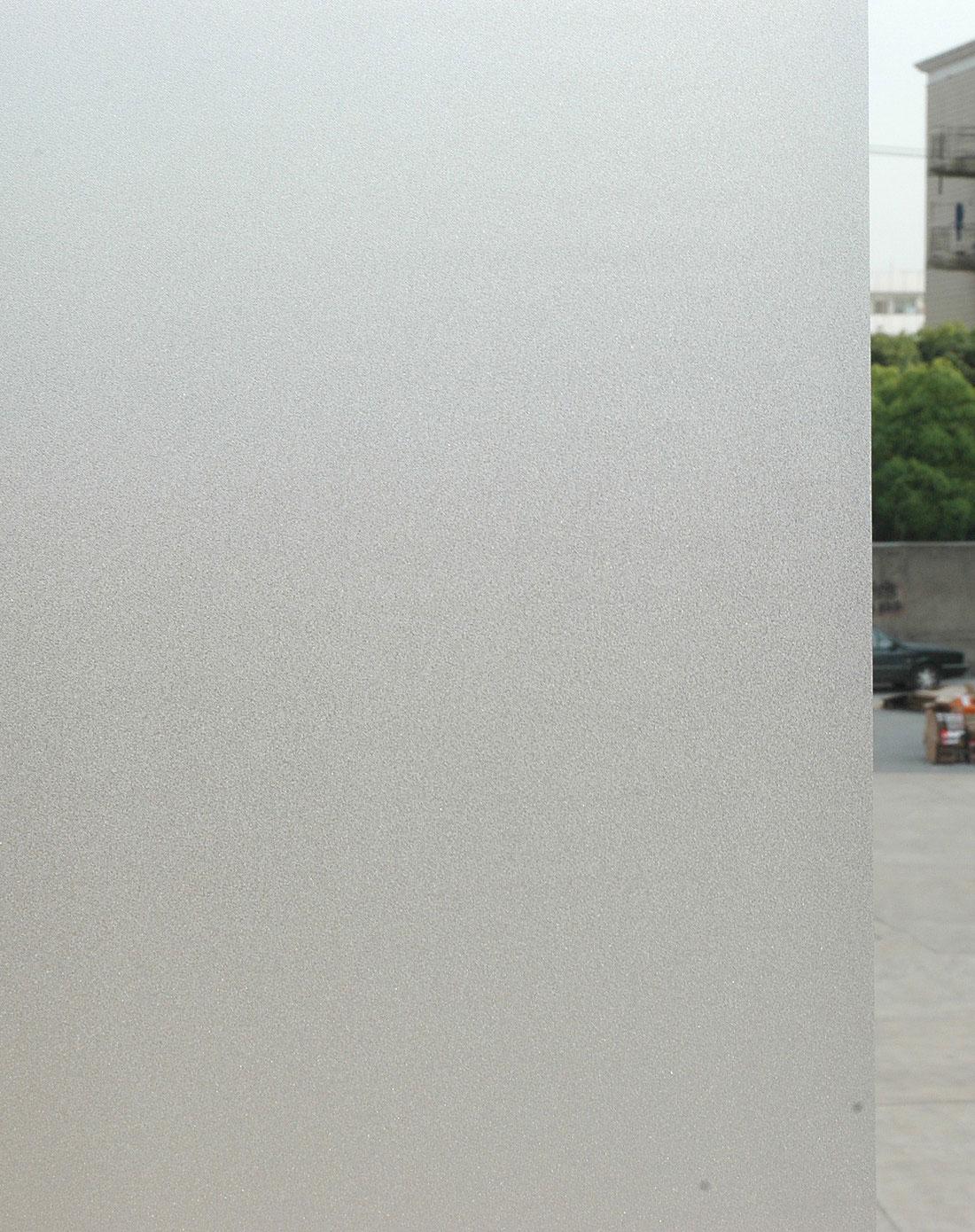 磨砂花纹静电玻璃贴45cm*2m