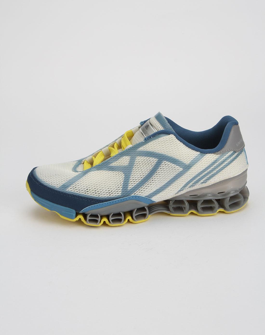 阿迪达斯adidas白色时尚透气运动鞋g41807