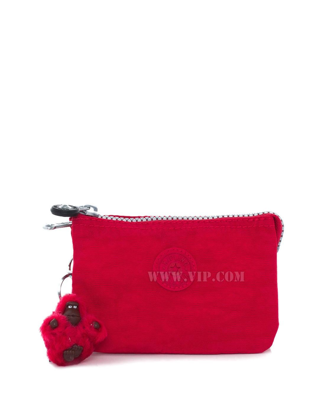 红色简约手机零钱包