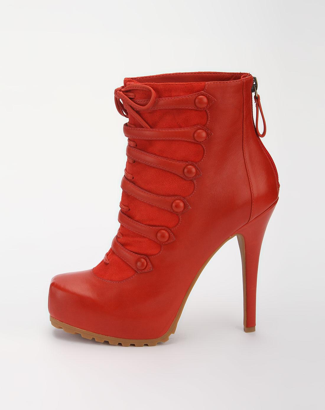 红色时尚高跟鞋