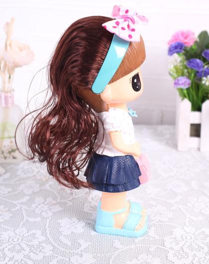 jm家装高品创意长发娃娃装饰摆件(c002)