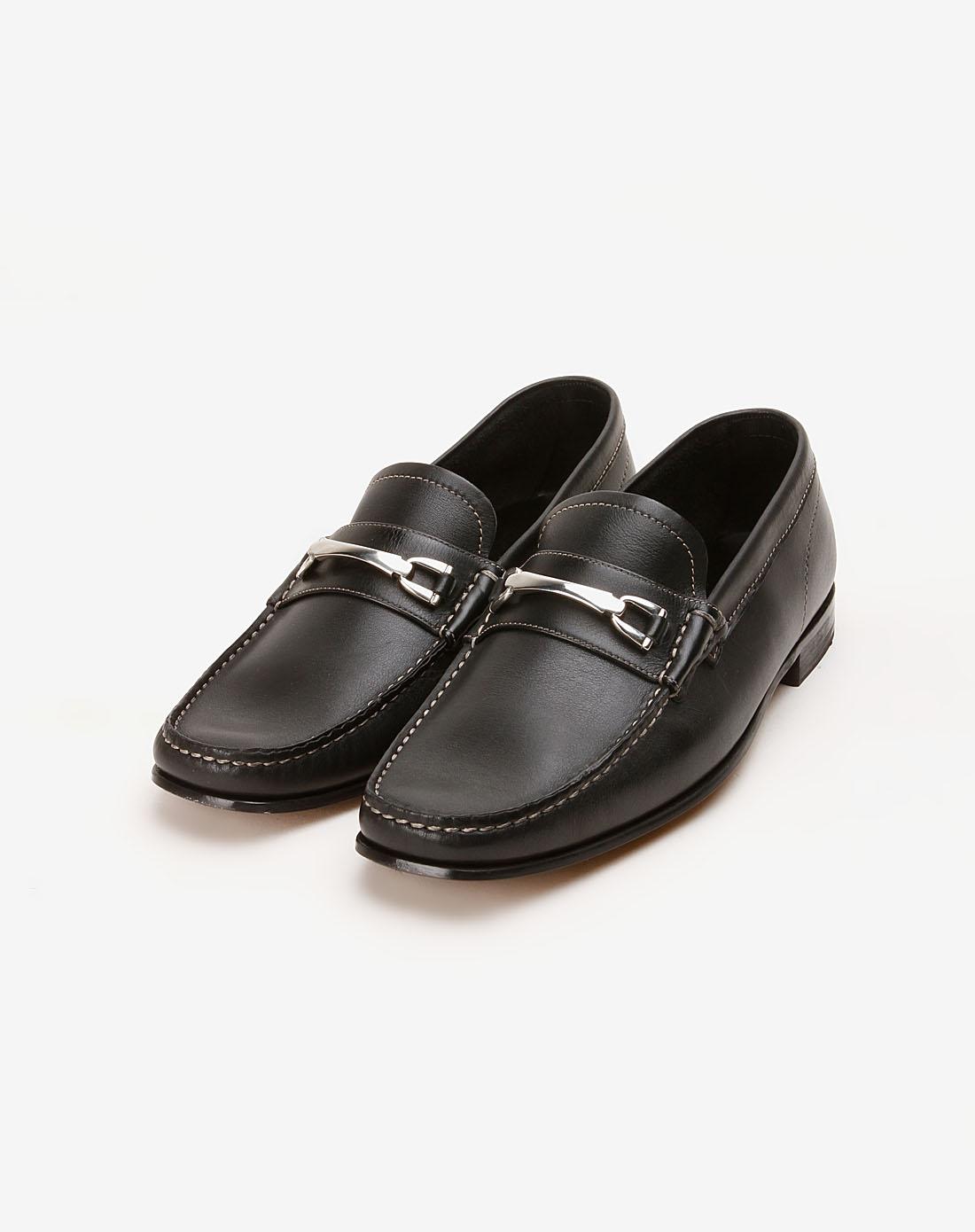tens名鞋专场男款黑色商务皮鞋b1ash102001