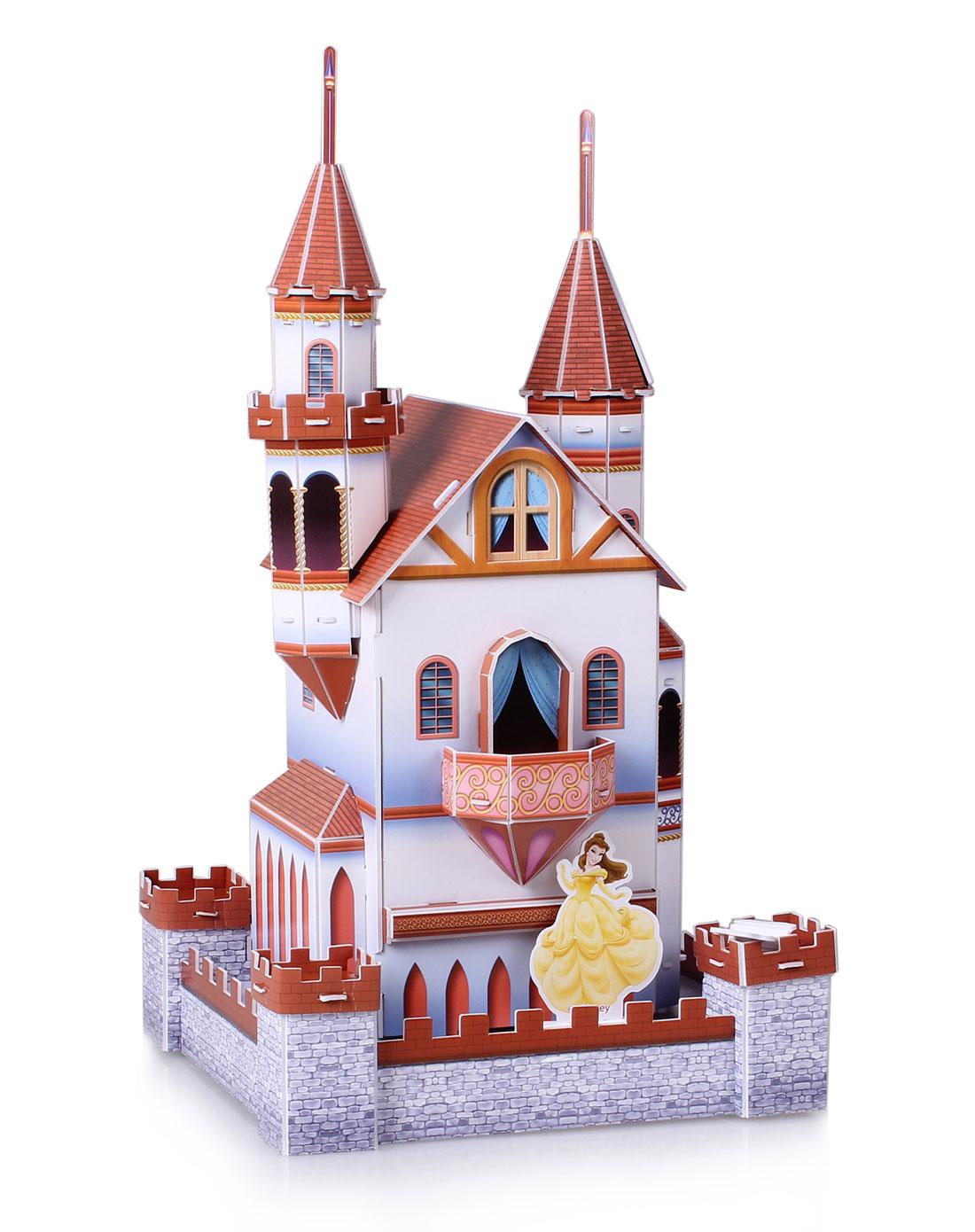 迪士尼disney 立体图-公主小城堡