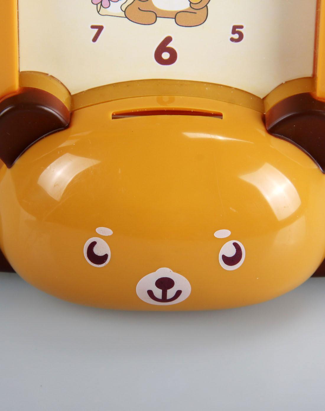 可爱卡通造型闹钟可爱小熊