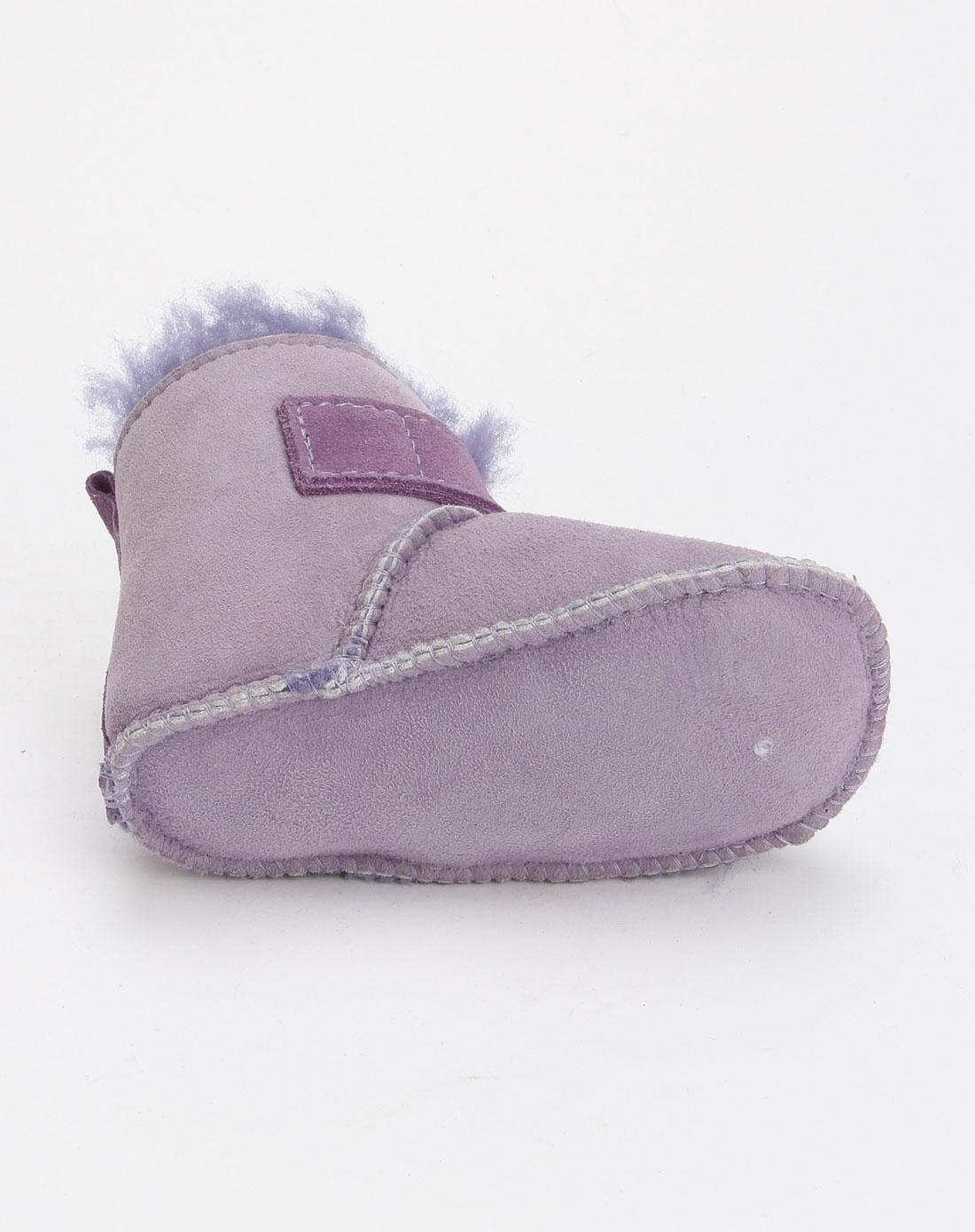紫色可爱婴儿鞋