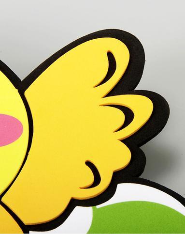 黄色小鸡儿童衣帽架