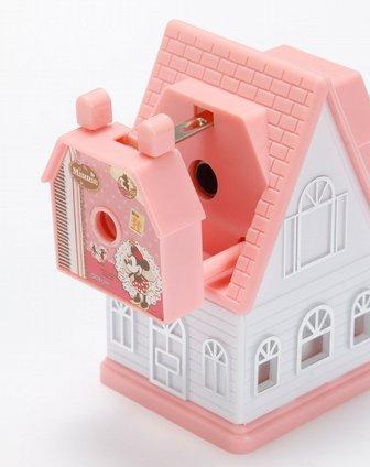 女童粉红色米妮房子削笔机