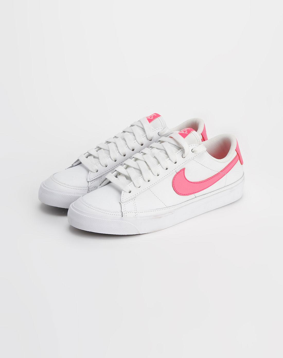 耐克nike-女款白色时尚系带板鞋371759-162