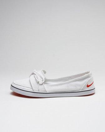 耐克nike-白色时尚浅口布鞋454296-100