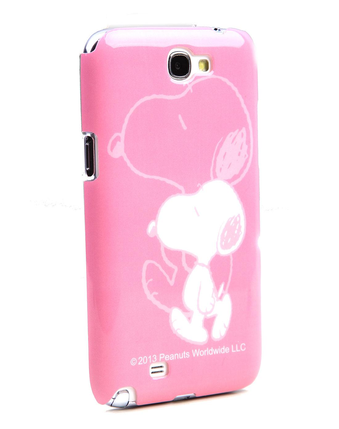 粉色三星7100手机壳