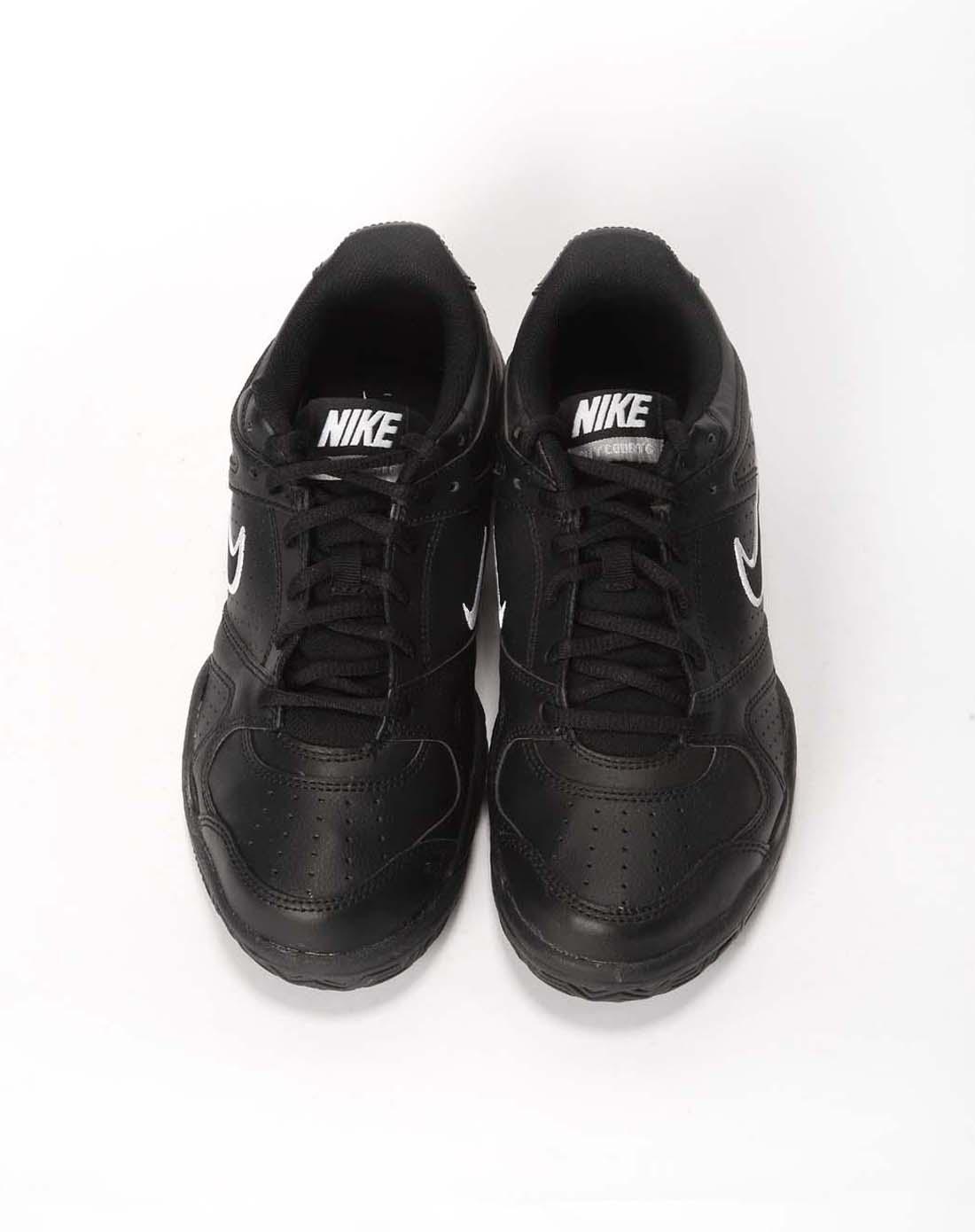 耐克nike-男子黑色网球鞋429636-003