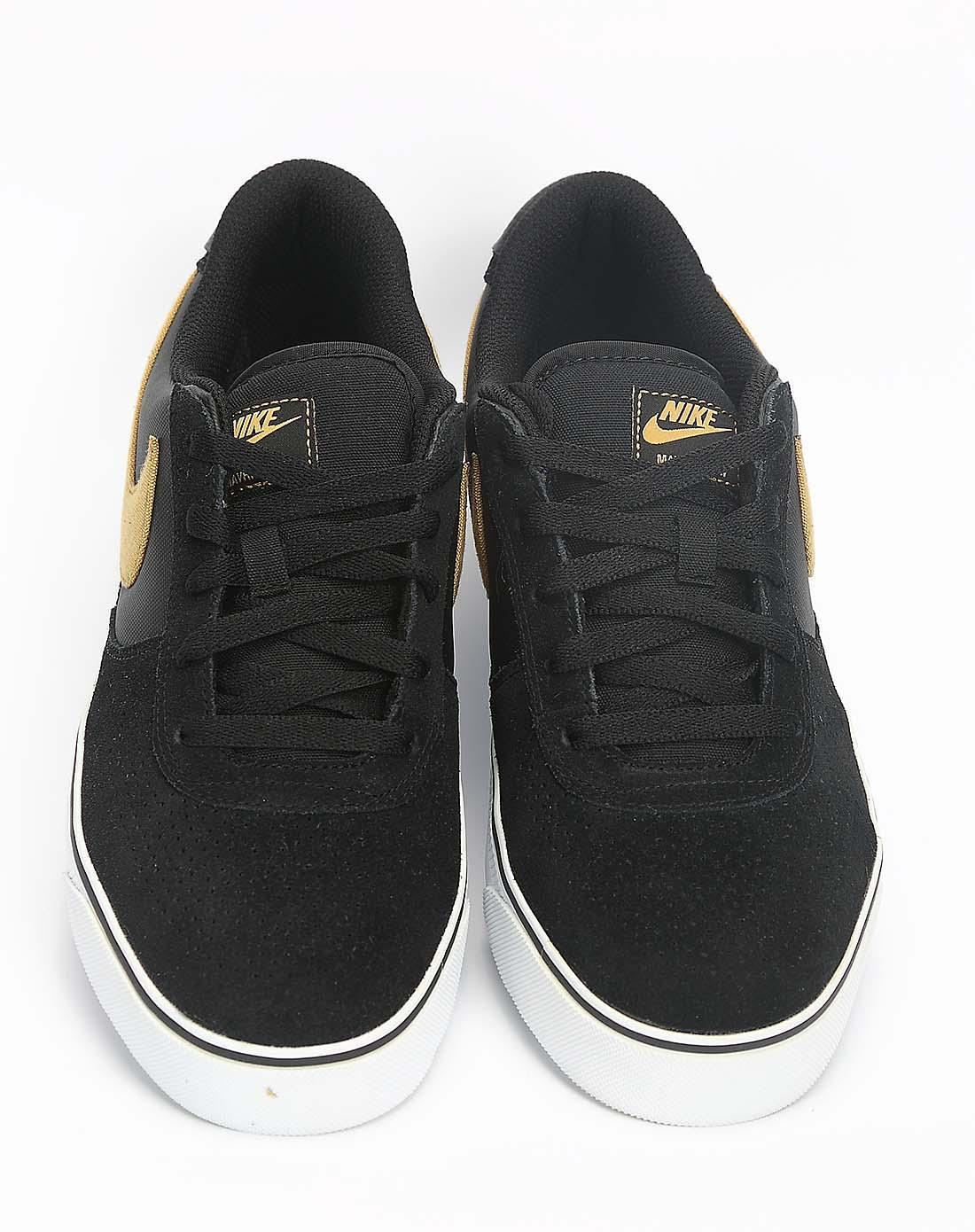耐克nike-男子黑色复古鞋442477-071