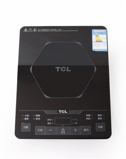 tcl 整板触摸式电磁炉(赠汤锅 炒锅)黑色