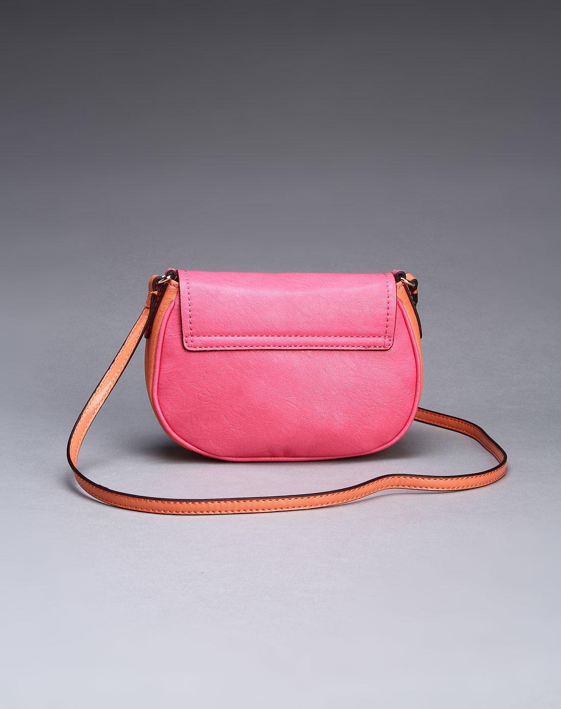 guess包包专场-女款热情可爱斜挎包粉红色