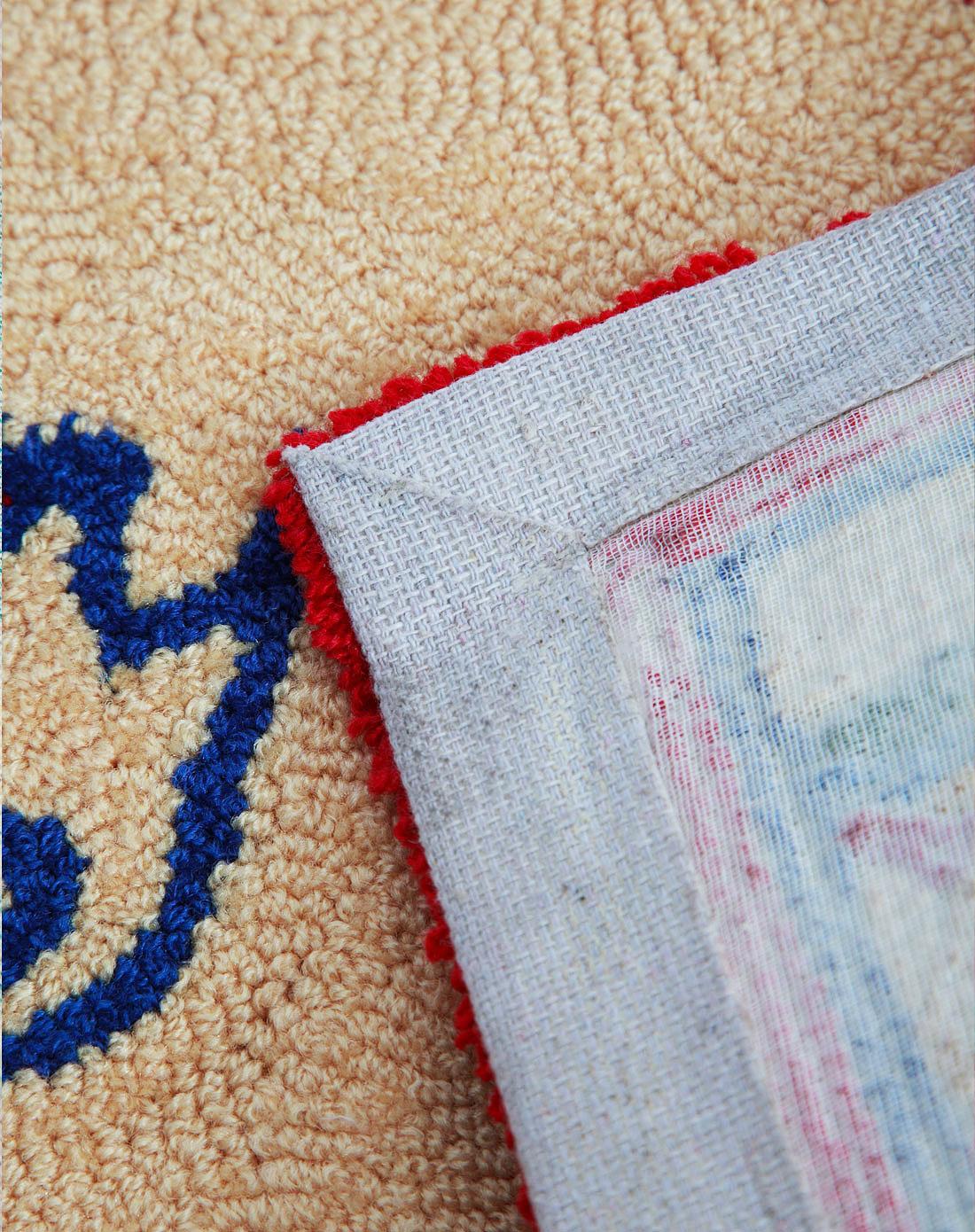 高级手工编织地毯4hr071