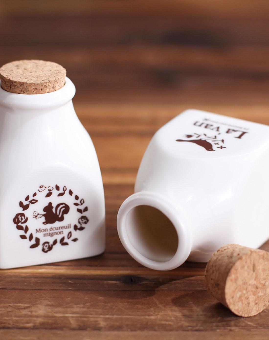动物陶瓷瓶套装