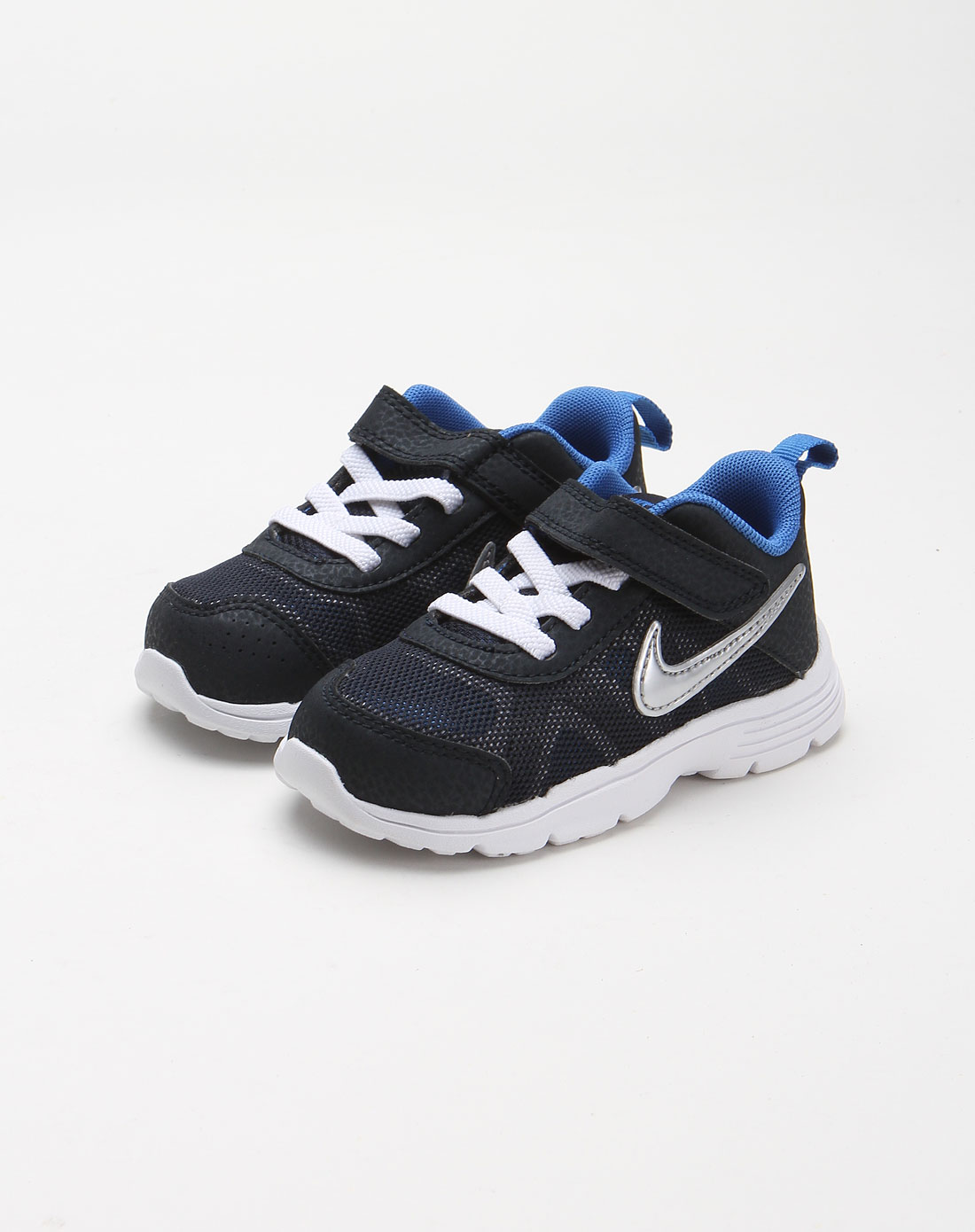 耐克nike-童装儿童蓝黑色休闲运动鞋512348-400