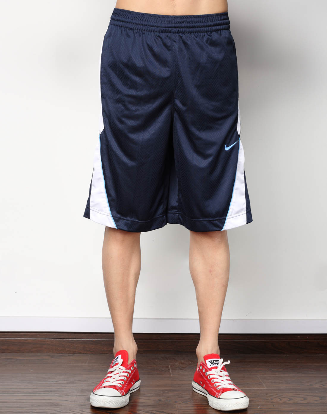 耐克nike男子藏青短裤331363-451