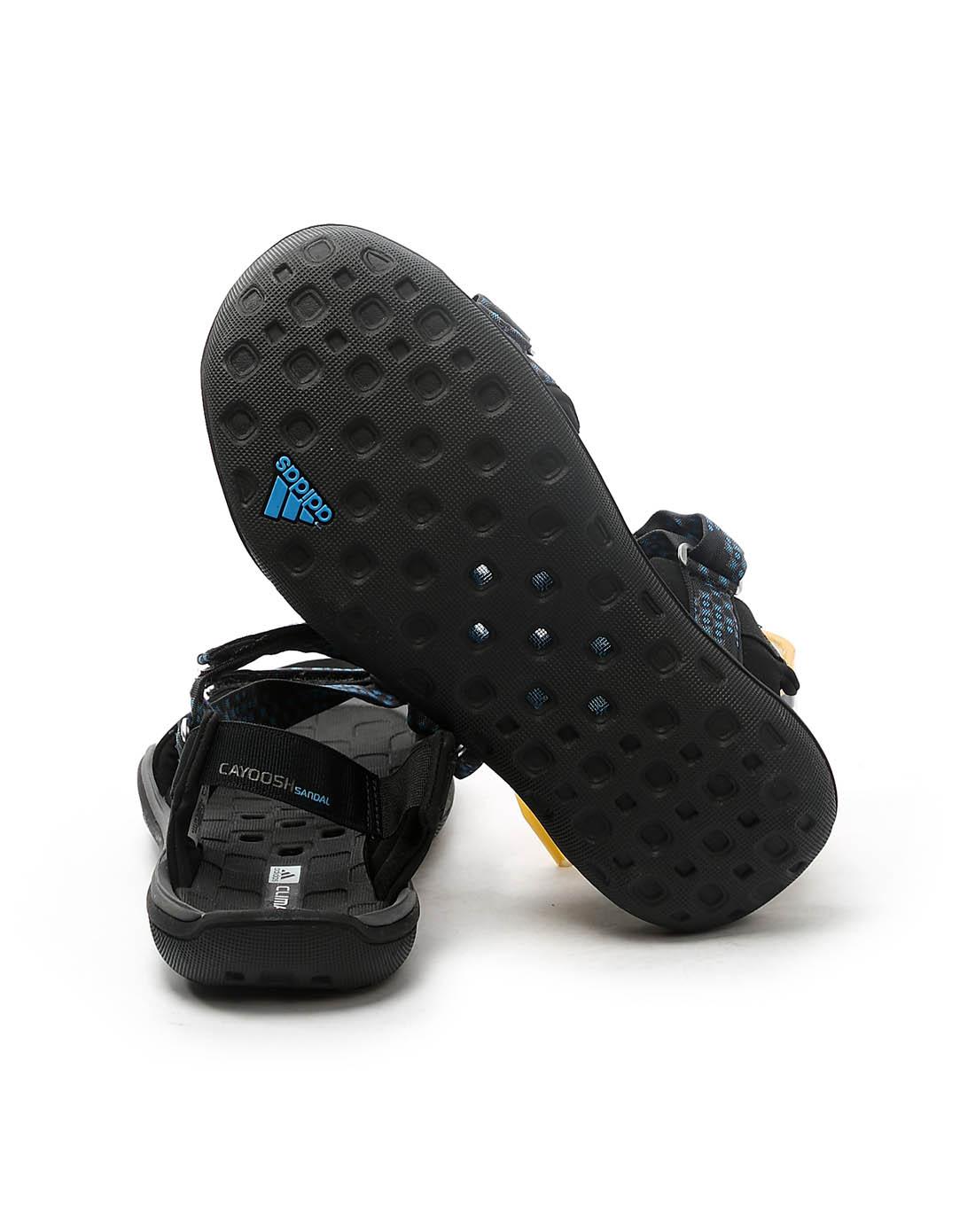 阿迪达斯adidas男女鞋男子黑色凉鞋v23369