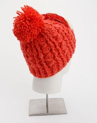 西瓜红帽子