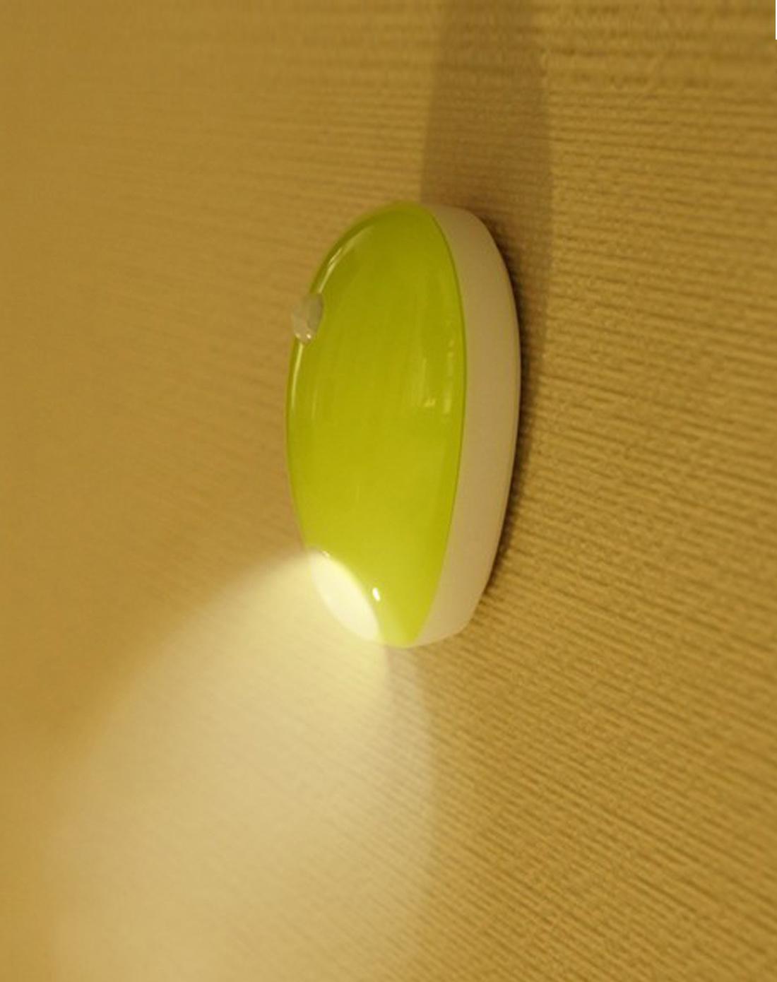 人体黄色电_人体感应绿色水滴灯-黄色
