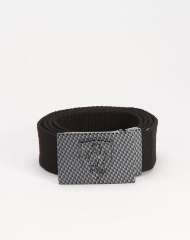 彪马puma 中性黑色布腰带图片
