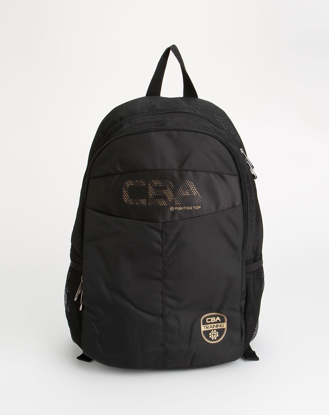 cba男女装黑色休闲双肩背包27102l37-02