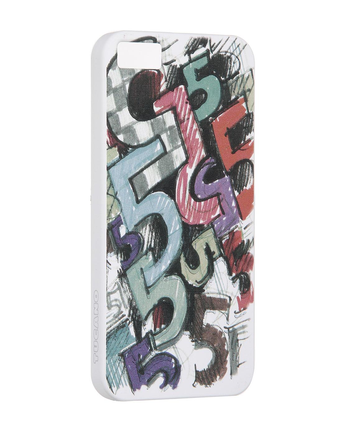 涂鸦数字图案彩色iphone5手机壳