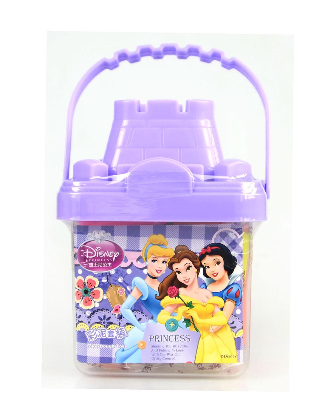 迪士尼disney儿童用品专场女童紫色可爱公主方形城堡