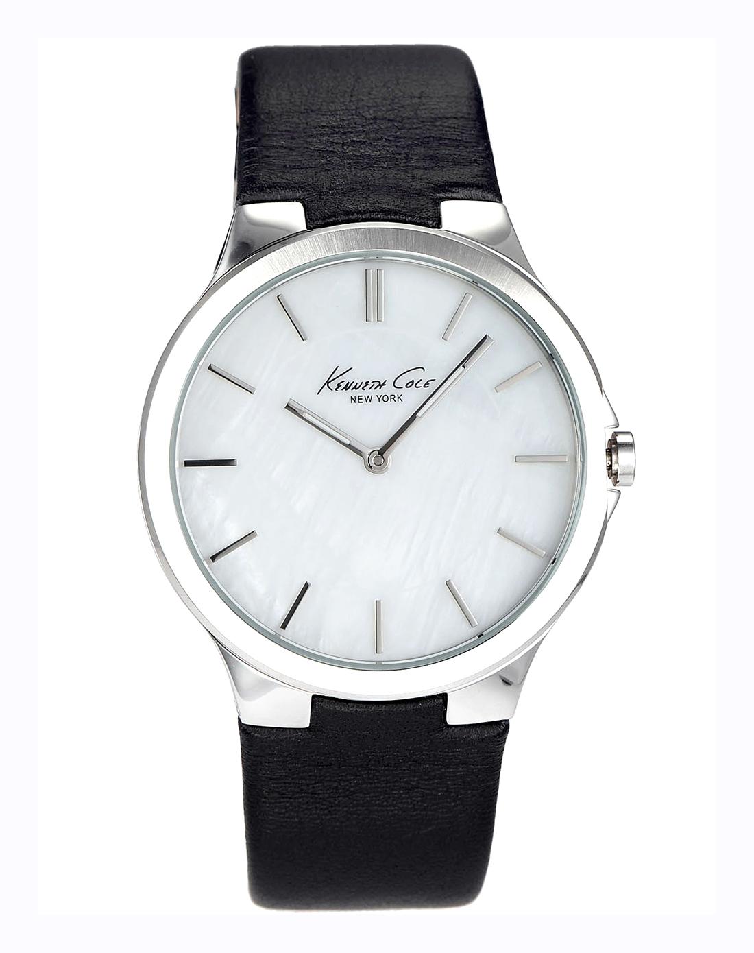 kc 女款时尚潮流皮革手表
