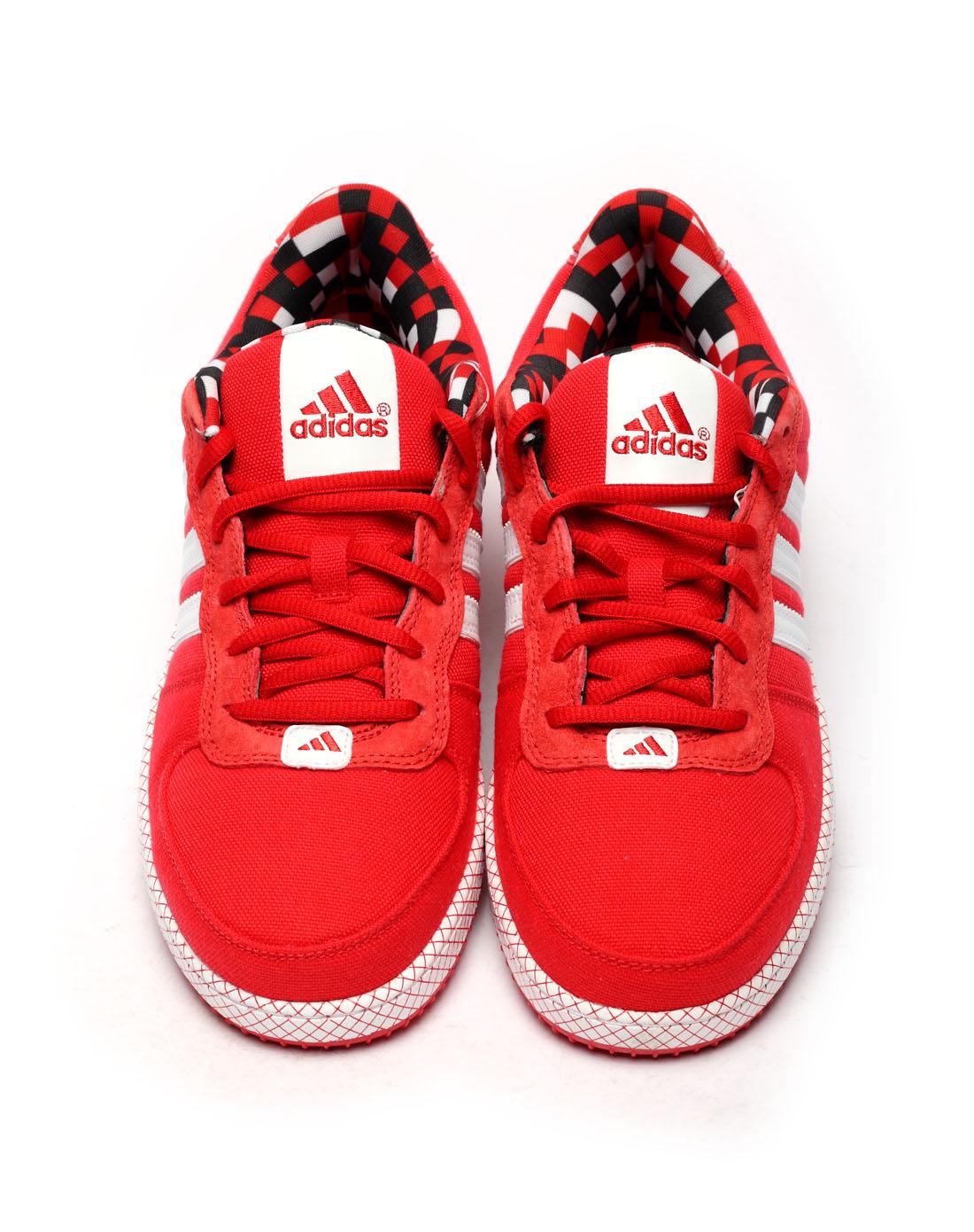 阿迪达斯adidas男子红色篮球鞋g59019