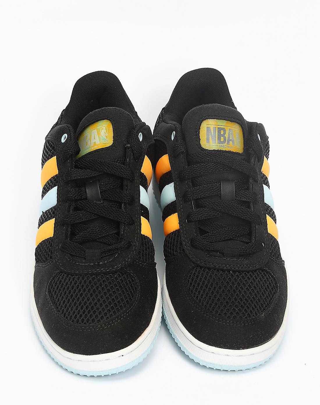 阿迪达斯adidas女鞋专场-女子黑色篮球鞋