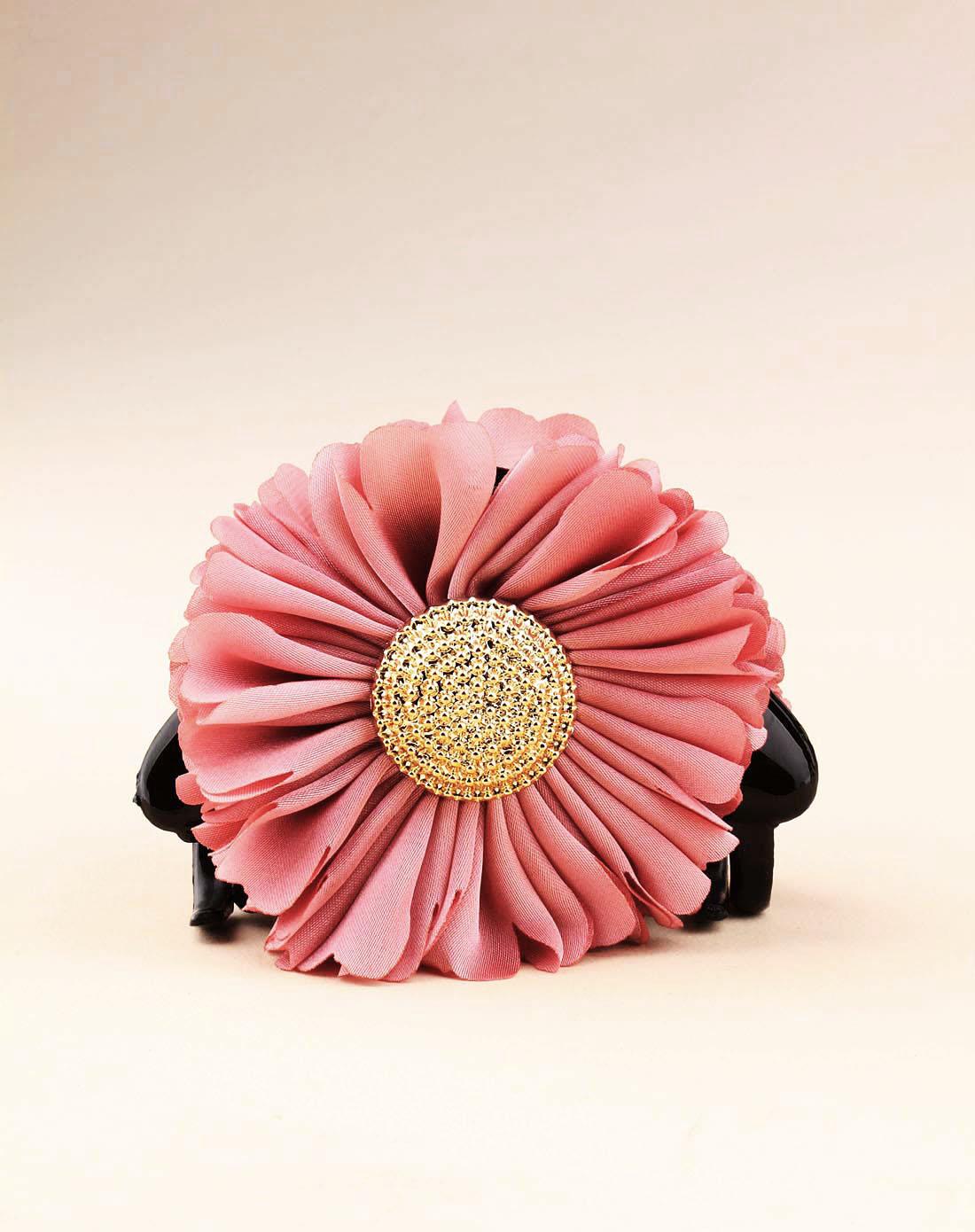 粉色向日葵爪夹